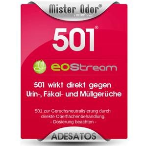 EOStream BDLC-501 entfernt Fäkalgeruch, Müllgeruch und andere extreme Gerüche.